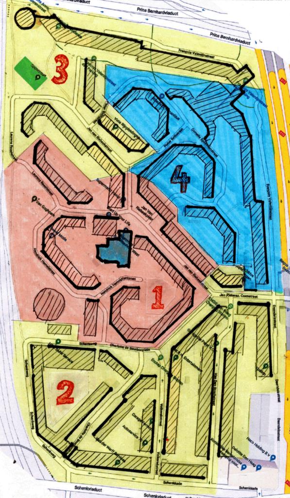 Bezuidenhout West - de vier buurtjes